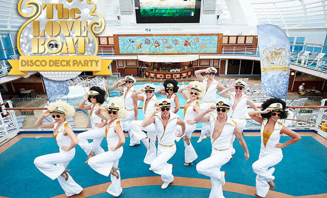 THE LOVE BOAT DISCO DECK PARTY