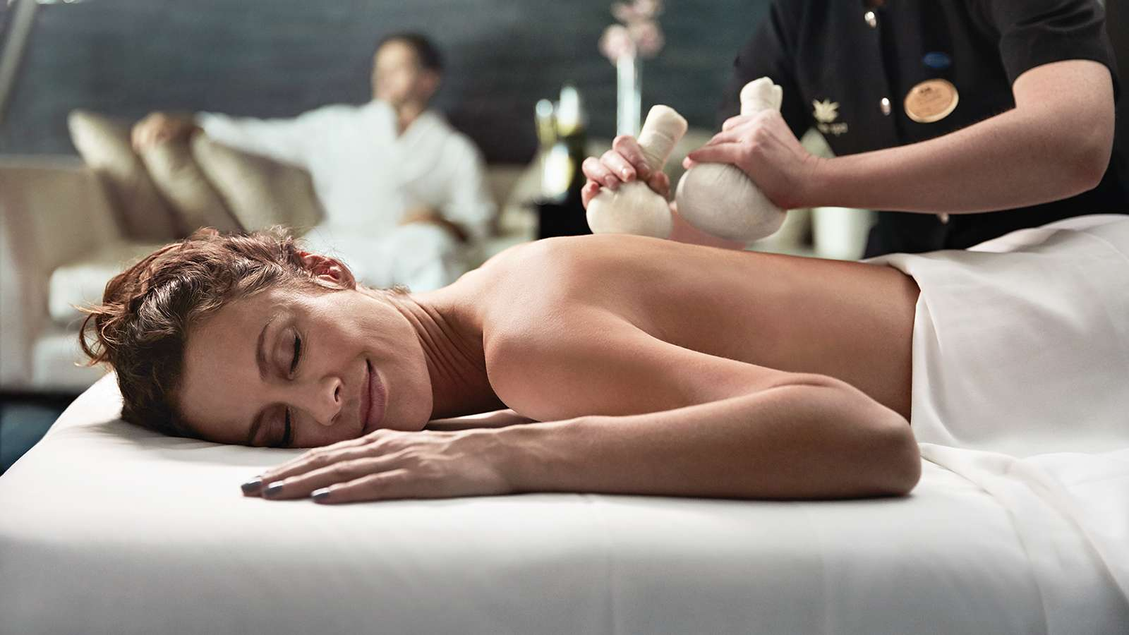 GO AHEAD, BE PAMPERED – YOU DESERVE IT