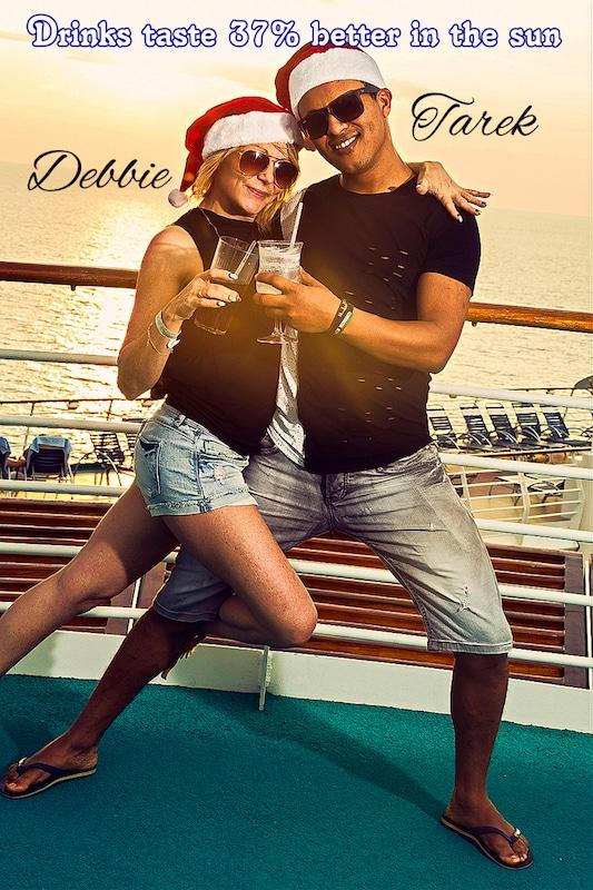Tarek y Debbie##
